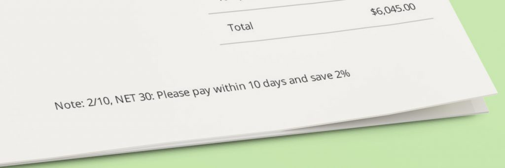 Invoice Terms & Payment Conditions